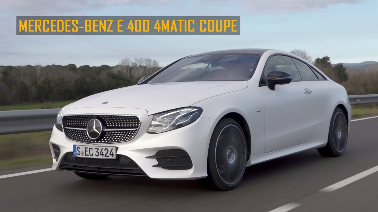 2017 mercedes benz e400 4matic coupe youtube