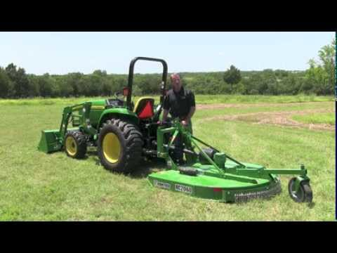 Rotary Cutter Disconnect From John Deere 3 Series Tractor