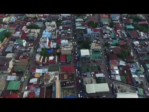 Lucena City, Quezon (BRGY 11) Downtown | Aerial Reel