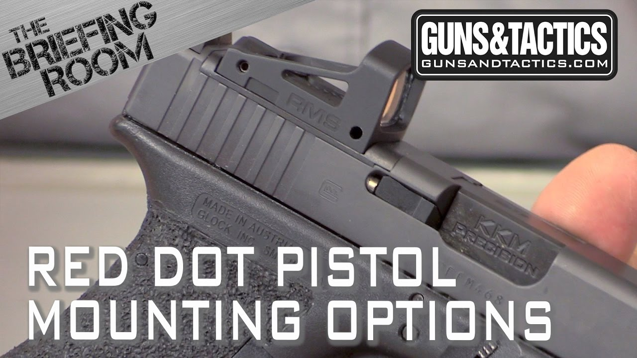 options for mounting a red dot on your pistol youtube