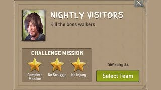 App Game The Walking Dead: No Man's Land Challenge In The Dead of N...