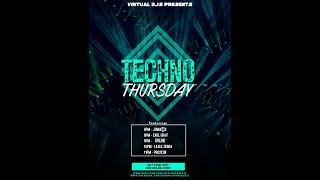 Virtual DJs Techno Thursday | DKLUB Live
