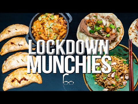 QUARANTINE (LOCKDOWN) MUNCHIES 5 QUICK & EASY RECIPES FROM THE PANTRY | SAM THE COOKING GUY 4K