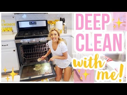 HOW TO CLEAN YOUR OVEN ✨| DEEP CLEAN WITH ME! CLEANING MOTIVATION SERIES 2019 EPISODE 2 | Brianna K