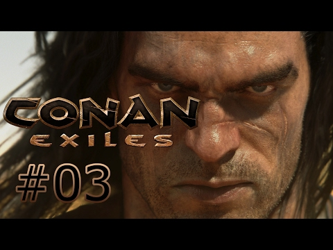 CONAN: EXILES Co-Op: Part 3: SPOOKY CAVE!(With Radian Gaming)