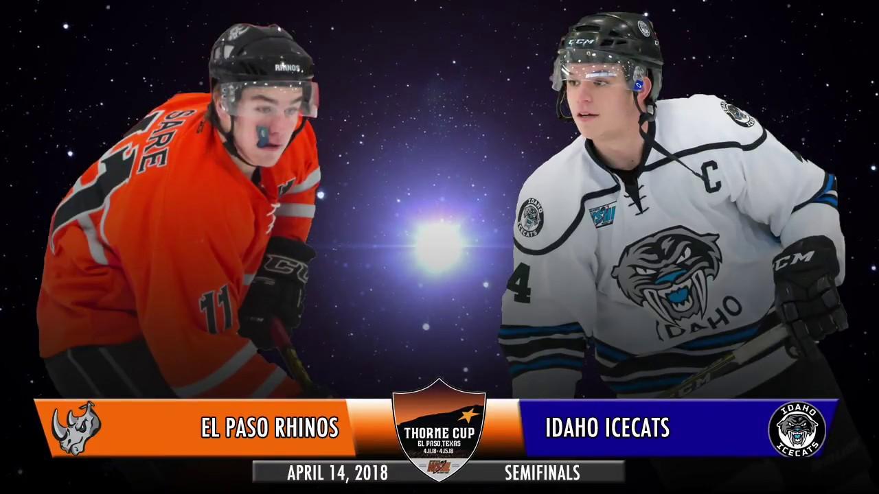 2018 Wshl Thorne Cup Finals Game 11 Recap El Paso Vs Idaho Youtube