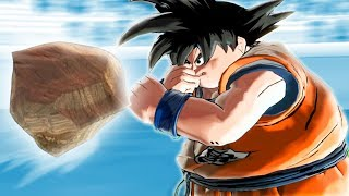 A ROCK vs GOKU AFTER MCDONALDS  - Funny Dragon Ball Xenoverse 2 Mods | Pungence