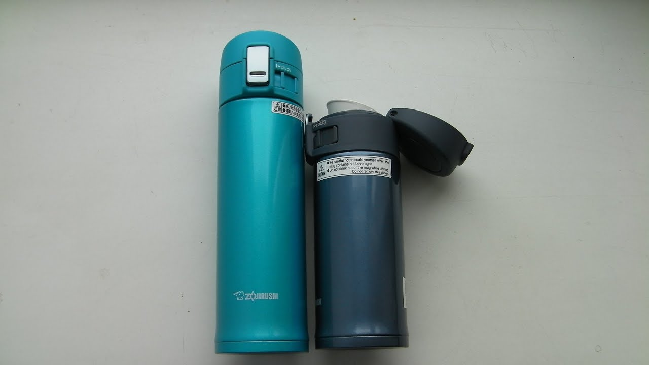 Толковые термокружки Zojirushi SM-KB48 и SM-KHE36