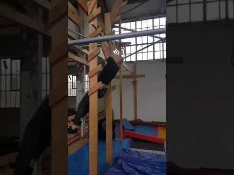 Ninja warrior practice at Ape Index
