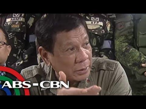 TV Patrol: Duterte, sinabing malapit nang matapos ang gulo sa Marawi