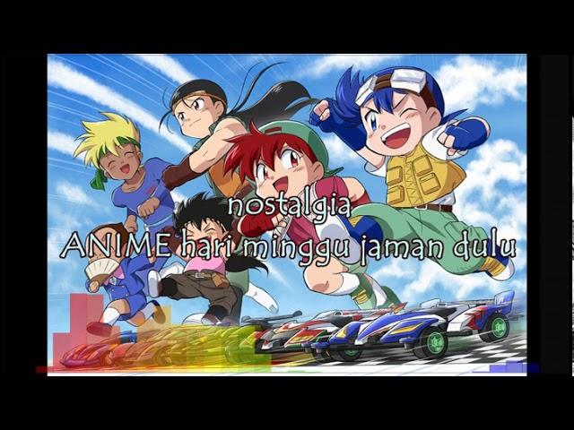 2 . anime hari minggu jaman dulu