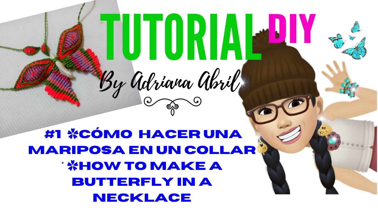 how to make a butterfly collar