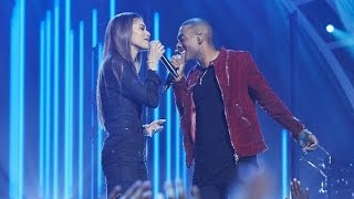 Repeat youtube video Zendaya & Mario - Let Me Love You (Live at Greatest Hits ABC)