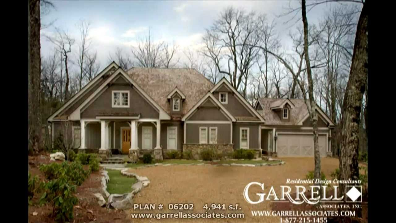 LODGEMONT COTTAGE HOUSE PLAN BY GARRELL ASSOCIATES, INC. MICHAEL W ...