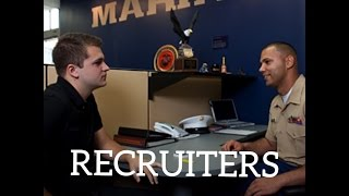 How to talk to a Military recruiter