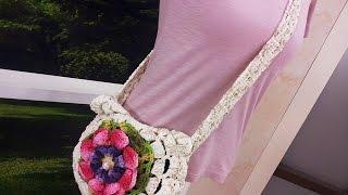 Mislene Gomes – Bolsa em Crochê