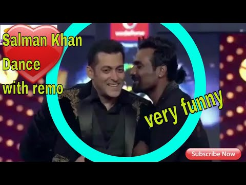 Salman Khan And Remo Dance And Comedy   Big Boss Funny   Prabhu Deva Trolled