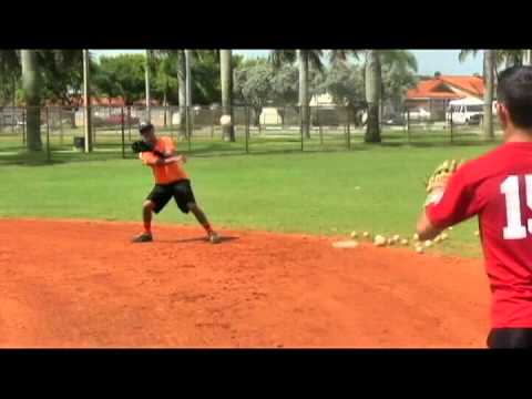 Training Baseball Ricky and JC 2da y SS Hialeah Gardens Miami - YouTube