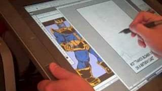 Draw Anything Video 2: Thanos blowing out candles on cake