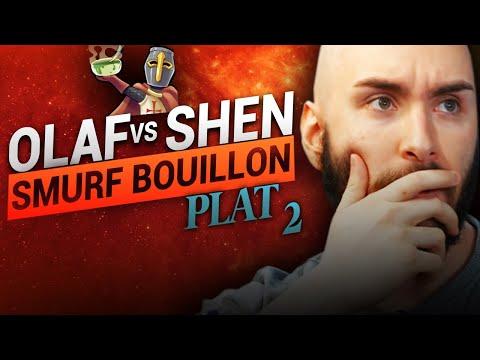 Vidéo d'Alderiate : [FR] ALDERIATE & AKABANE - SMURFING BOUILLON - OLAF VS SHEN - APPRENDRE LE RESPECT A DES SMURFS