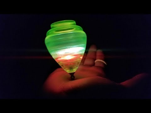 Trompos Cometa Turbo Flash Light up Spin Top Unboxing and Review. Mexican Trompos LED Review