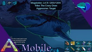WHATS COMING TO MOBILE AND MEGALODON TAME Ark Mobile S1 E35