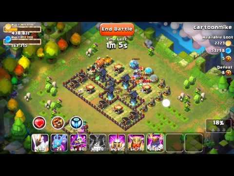 Castle Clash Raid Strategy 06: Abusin' Thunder God P1 - Dirty Distaggio
