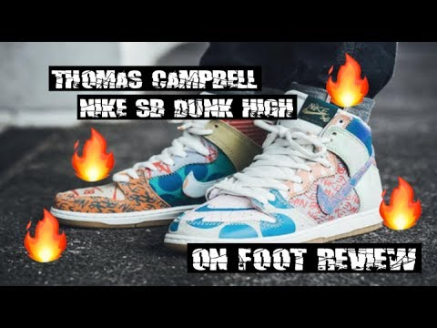 quite nice utterly stylish best website Thomas Campbell x Nike SB High