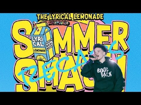 LYRICAL LEMONADE 1st annual SUMMER SMASH (LIL MOSEY)