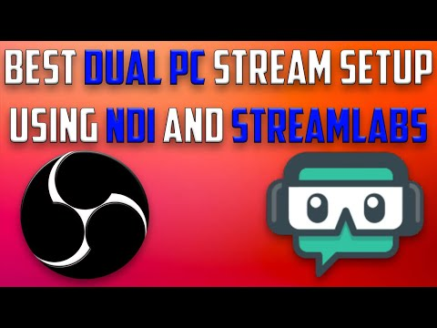 Streamlabs OBS: NDI 3 5 Dual PC Stream Guide by The Frugal