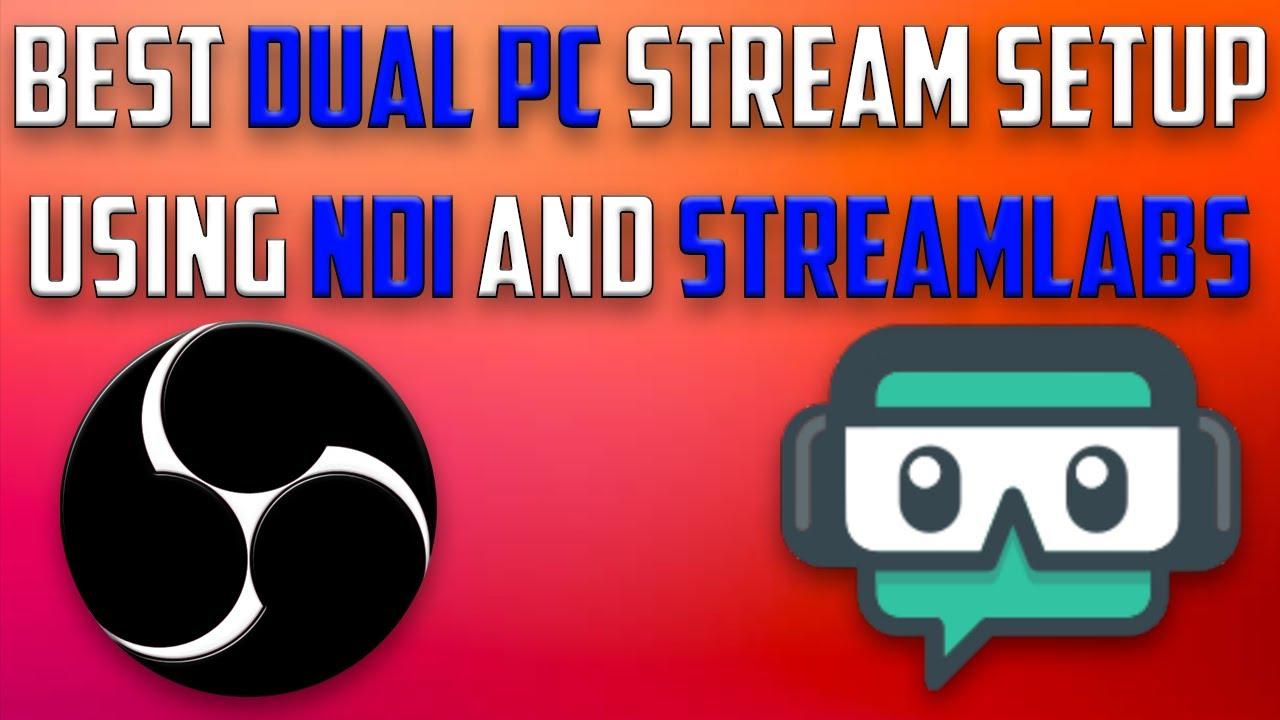 Easiest Two PC Stream Setup (No Capture Card)