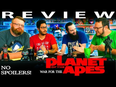 """""""War for the Planet of the Apes"""" Non-Spoiler MOVIE REVIEW!!"""