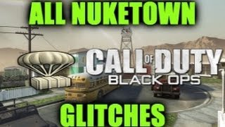 Black Ops: All Nuketown Glitches