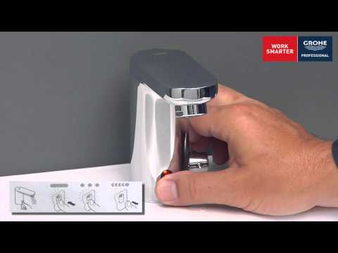 grohe professional thermal desinfection program youtube. Black Bedroom Furniture Sets. Home Design Ideas