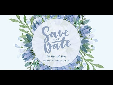 Create a Save the Date Postcard in Adobe Illustrator