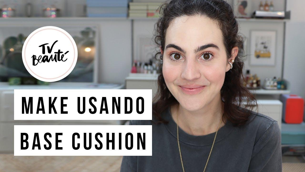 Make do Momento Usando Base Cushion e Outras Novidades - TV Beauté | Vic Ceridono
