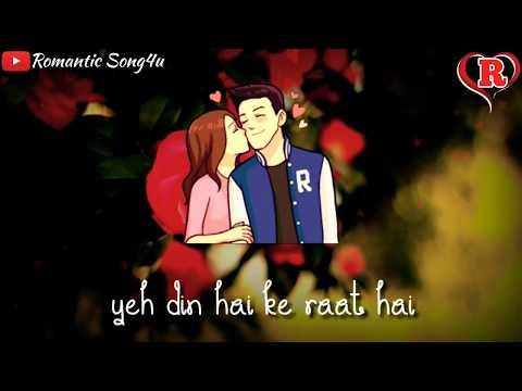 Kal Tak Jiske Sapne Dekhe Aaj Woh Mere Saath Hai 😍 | Latest Whatsapp Status | Romantic Song4u