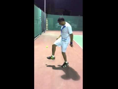 Essam tennis football skills 💪