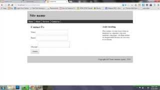 How to create PHP website templete-PHP tutorial