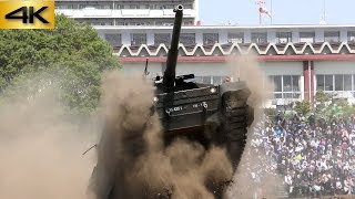 10式戦車大暴れ! 練馬駐屯地記念行事 Type10 MBT