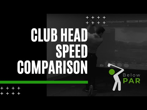 A COMPARISON OF CLUB HEAD SPEED ON DISTANCE!