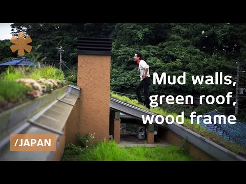 Modernold Japan mud house smart bioclimatic on a budget YouTube