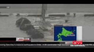 Tsunami en Hawai, japon, rusia, nueva zelanda y australia!
