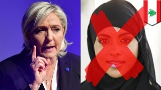Marine Le Pen headscarf: Le Pen refuses to wear hijab in talks with Lebanese cleric - TomoNews