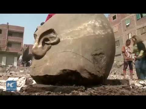 Two Ancient Pharaonic Statues Newly Unearthed In Egypt!