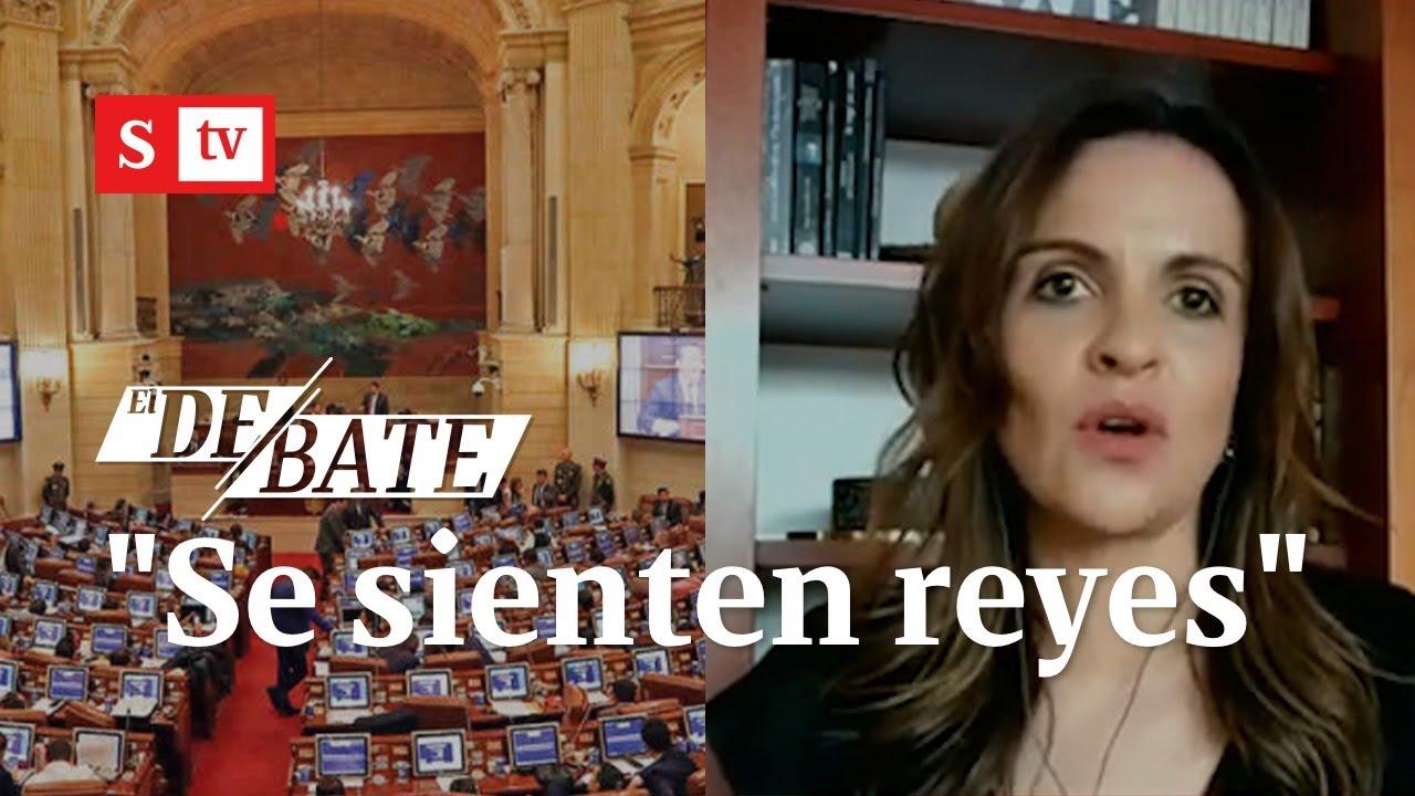 """""""El tema de un referendo no me suena para nada loco"""": María Andrea Nieto   El Debate"""