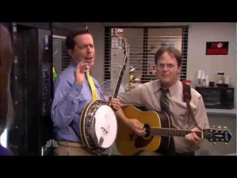 Andy and Dwight Sing To Erin - The Office US - YouTube