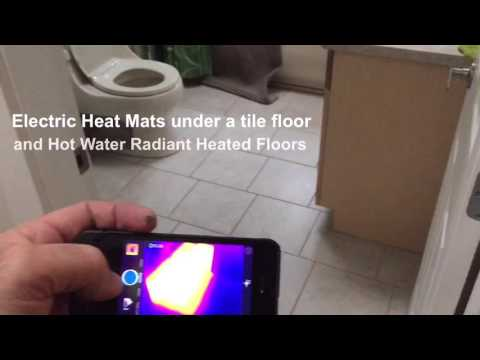 How an Infrared Camera works during a Home Inspection