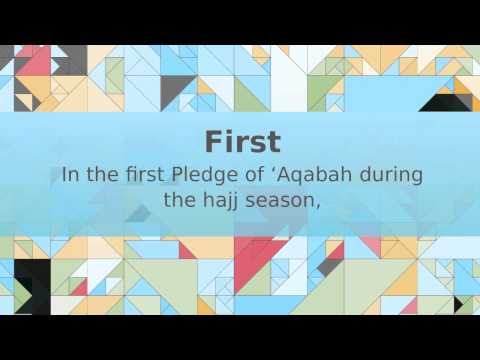 Lessons From The Pledge Of 'Aqabah