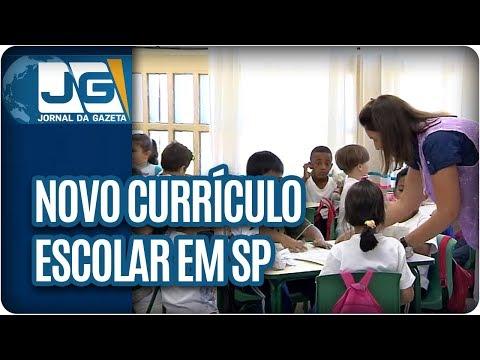Novo currículo escolar em São Paulo